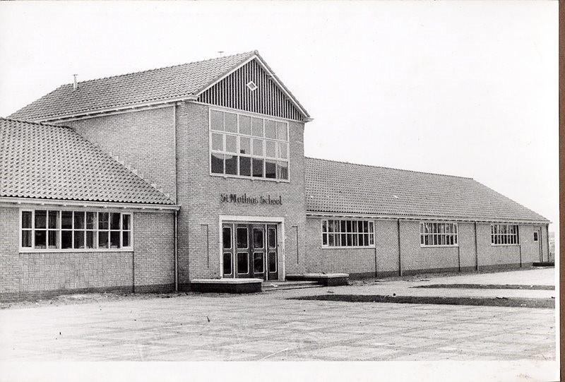 St. Matthiasschool in 1952